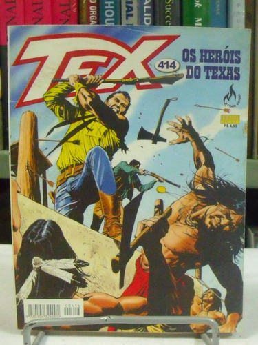 hq tex n°414 - os heróis do texas
