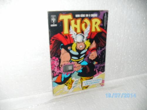 hq thor nº 3 reino eterno em chamas mini em 6 edições abril