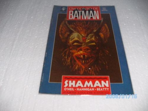 hq um conto batman shaman parte 1 de 5 gibi fj