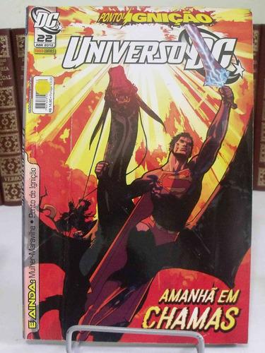 hq - universo dc nº22  - amanhã de chamas