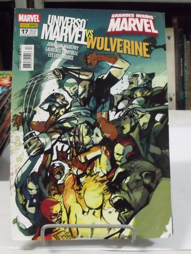 hq universo marvel vs wolverine - nº 17
