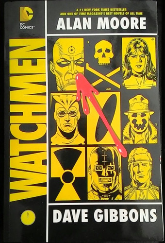 hq watchmen, alan moore e dave gibbons
