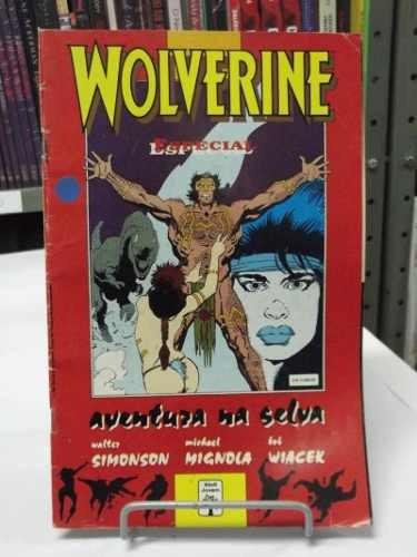hq - wolverine - especial - aventura na selva