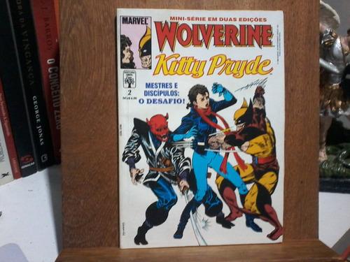 hq - wolverine - kitty prude - volume 1 e 2 - original