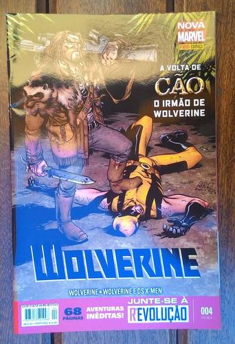 hq wolverine nº 04 - a volta de cão o irmão de wolverine