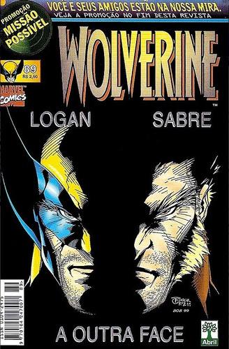 hq - wolverine nº 89 editora abril ano 1999