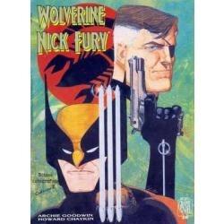 hq wolverine nick fury graphic novel 15 reais f.gratis