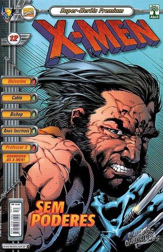 hq - x men - super heróis premium nº 12 ed abril ano 2001