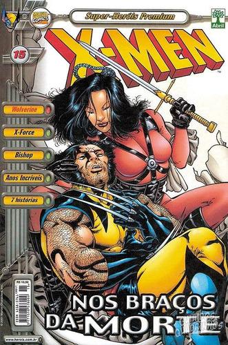 hq - x men - super heróis premium nº 15 ed abril ano 2001