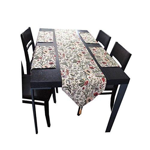 hqdeal camino de mesa y manteles conjunto de la navidad de
