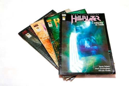 hqs dc - vertigo - anti-heróis, sandman, hellblazer - oferta