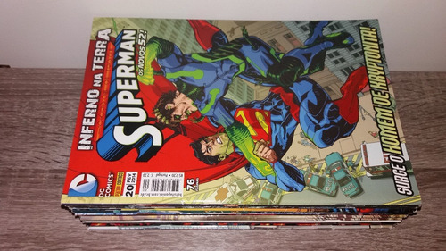 hqs superman - editora panini - os novos 52 - vários números
