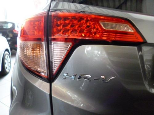 hr-v 1.8 aut. ex flex 2016 cinza