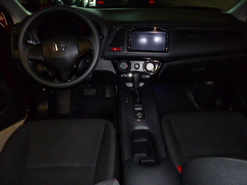 hr-v 1.8 aut. lx flex vermelha 2016 - playauto veiculos