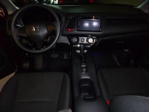 hr-v 1.8 lx flex aut. vermelha 2016 - playauto veiculos