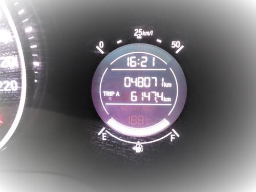 hr-v ex automático com couro e único dono com 48.000 km