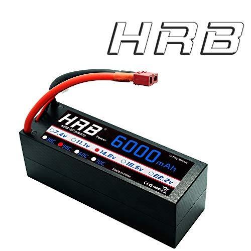 hrb 4s 148 v 50 ° c batería de lipo hardcase con dean t ench