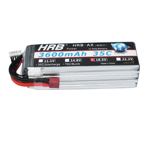 hrb 5s 18.5v 3600mah batería de lipo rc 35 70 c para coche