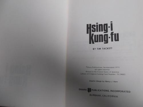 hsing kung fu tim tackett en ingles ilustrado artes marciale