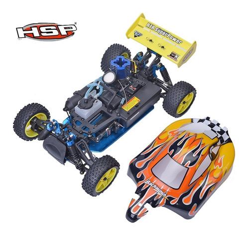 hsp 02023 embrague de 2 velocidades buggy nitro auto rc