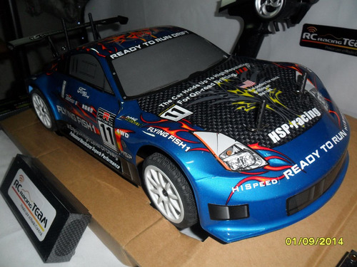 hsp carro radio control drift 1/10 rc hooby exceed redcat