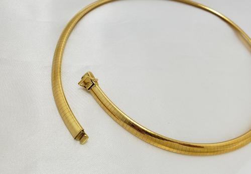 h.stern colar omega em ouro amarelo 18k 750 e brilhante