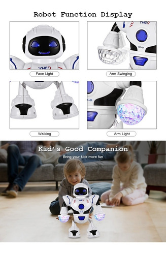 ht-01 kids electronic smart robot