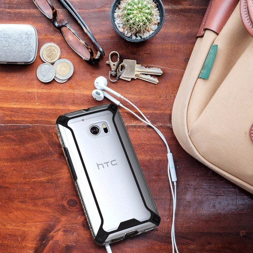 htc 10 carcasa poetic affinity clear proteccion bumper