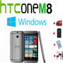 Htc One M8 32gb Windows 8.1 4g Full Hd Libre Nuevo +4 Plus