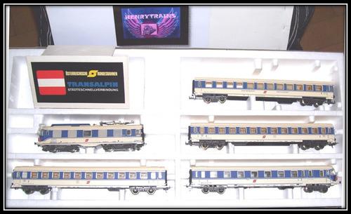 htc lima cod21 set transalpino loco y 4 coches exelente