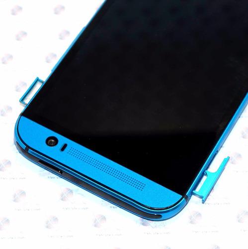 htc one m8 android 6 azul nuevo liberado 32gb, 4g caja