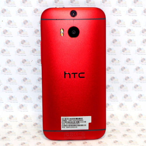 htc one m8 android 6.0 rojo nuevo liberado 32gb, 2gb ram