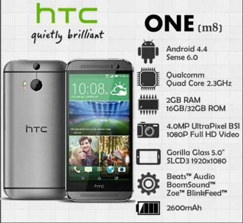 htc one m8 conversion a 4g lte servicio