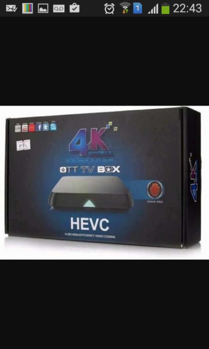Htv Box Iptv 4k Android + De 140 Canais Brasileiros Kodi Tv