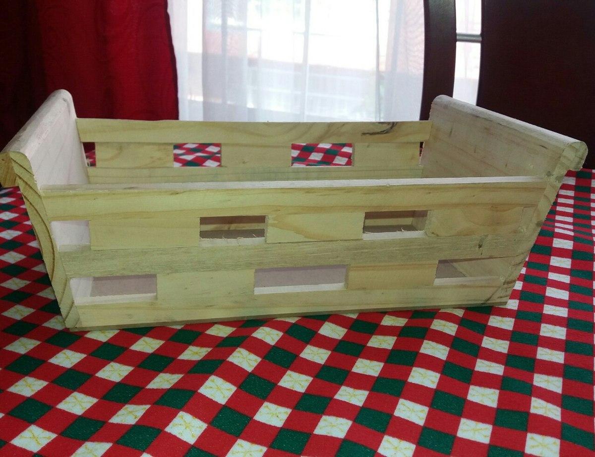 Huacal caja trineo madera no 3 desayunos sorpresa 24 for Trineo madera decoracion