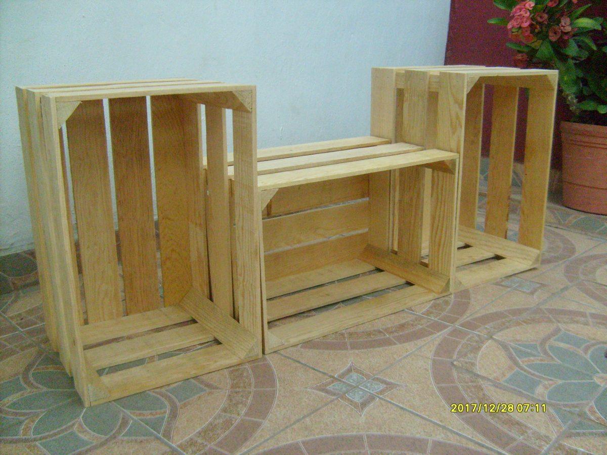 Huacal o caja de madera de pino en mercado libre - Maderas de pino precios ...