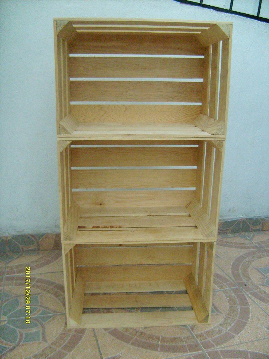Huacal o caja de madera de pino revisa mi reputaci n - Donde conseguir cajas de madera ...