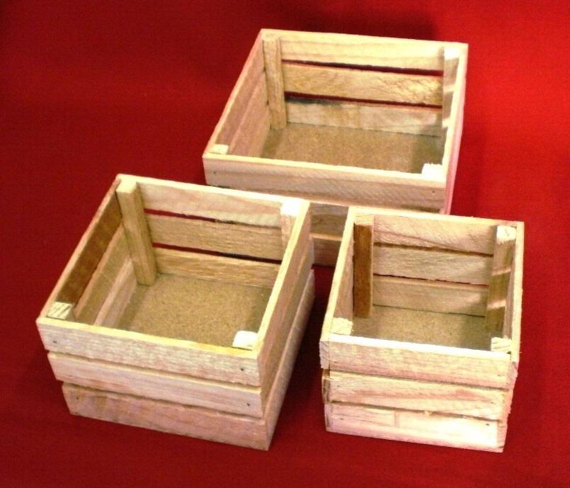 Huacal rejita madera manualidades trabajos escolares 18 - Madera para manualidades ...