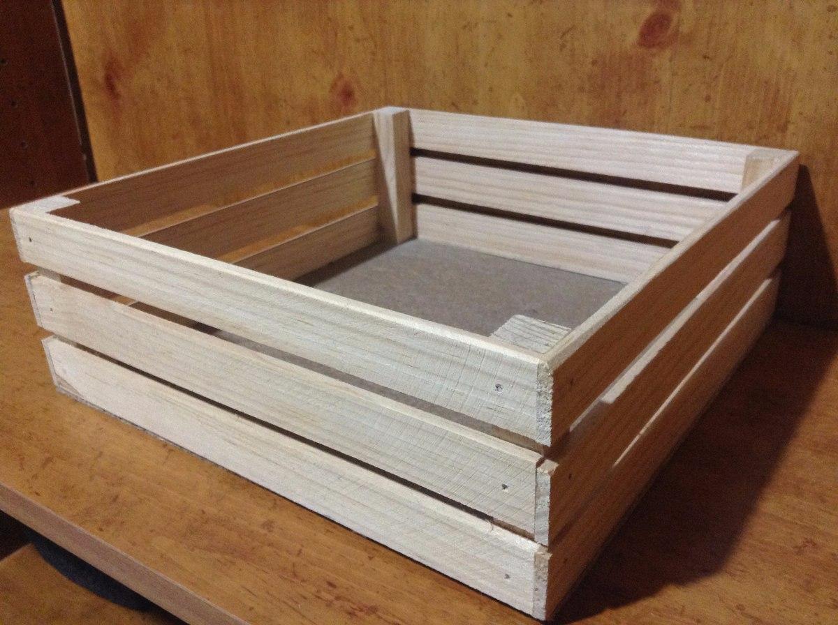 Huacal rejita madera manualidades trabajos escolares 18 for Manualidades con cajones de madera