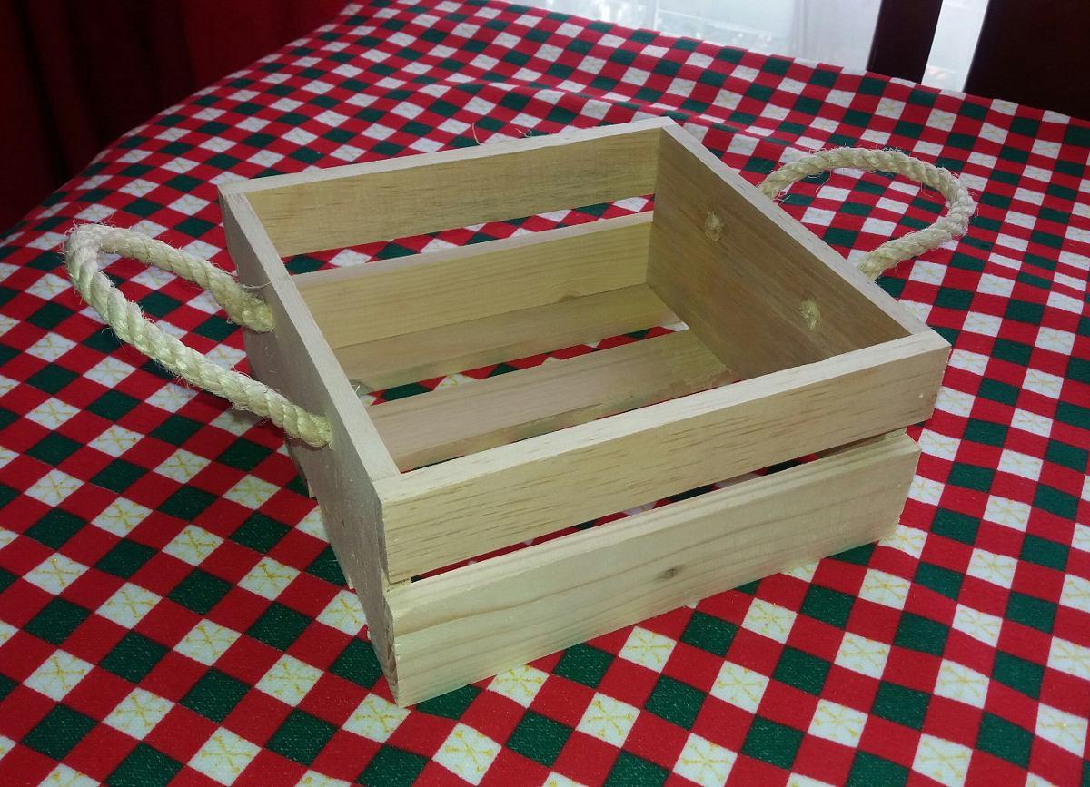 Huacales caja en madera 25x25 desayunos sorpresa 15 - Donde conseguir cajas de madera ...
