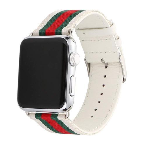 huanlong nuevo nylon ocasional cuero reloj banda hebilla cor