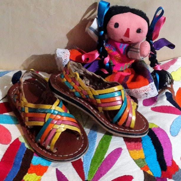 huarache artesanal niña
