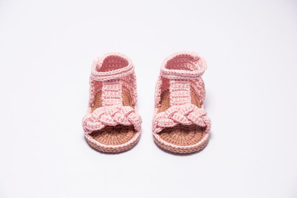 Huarache De Bebé Tejido A Crochet - $ 169.00 en Mercado Libre