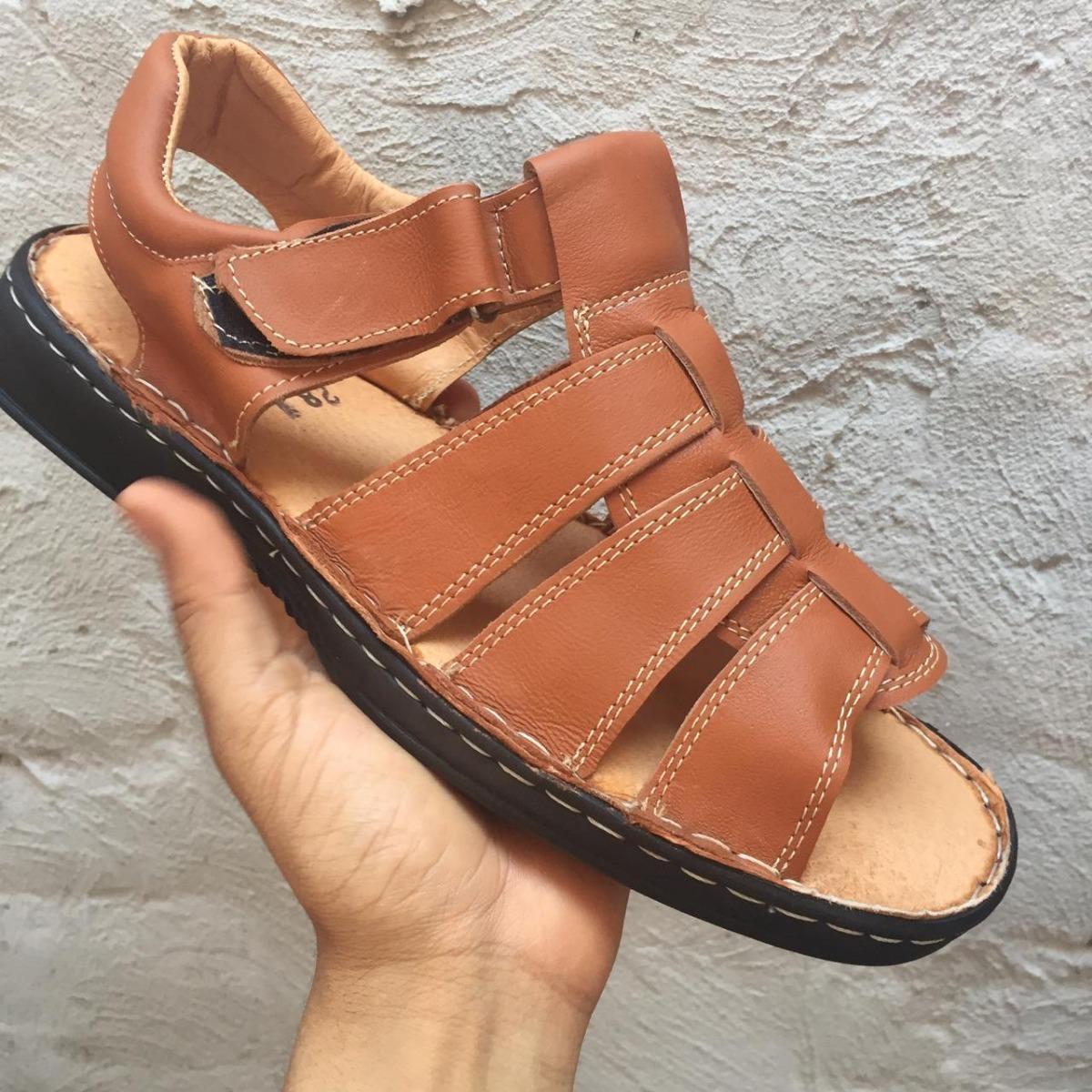 214eeba239 Huarache Zanthy Shoes De Caballero Color Miel -   399.00 en Mercado ...