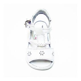 Bebé Blanco De Burbujas Piel 12144 Huaraches Mini Niña 7byfg6Y