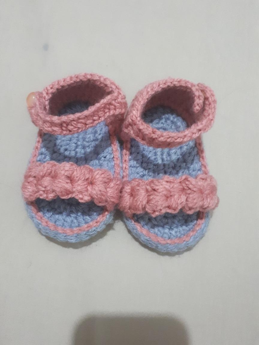 Huaraches Tejidos Crochet Para Bebe 16000 En Mercado Libre