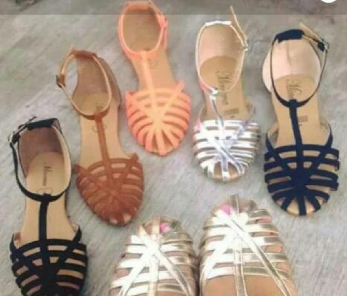 Huarache,sandalia Economico, De Moda Mujer, Bonito ...