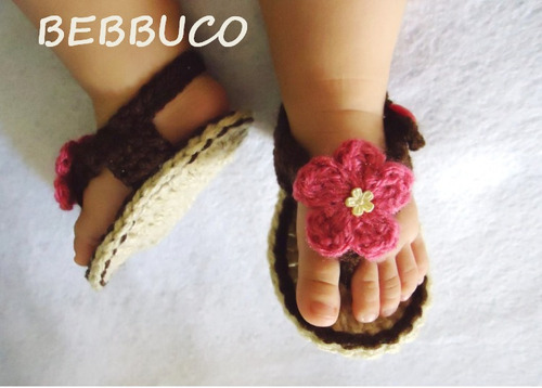 huarachitos sandalias bebe de calidad tejidos niña regalo