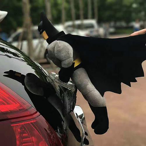 huashi muñeca de coche, batman gris con altura 40cm