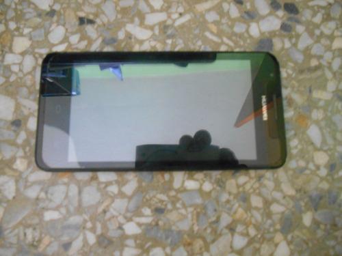 huawei g510 - 0010 pantalla y mica 3/4